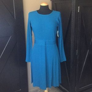 NWT Laundry By Shelli Segal Fit + Flare Dress